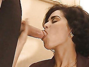 Blowjob Brunette Cumshot Hardcore MILF Mouthful Full Movie
