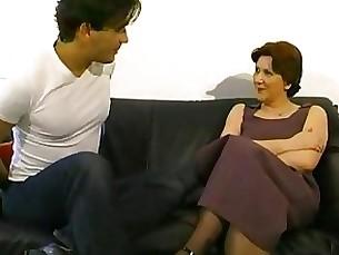 European Slut Mature Ruined By Stud