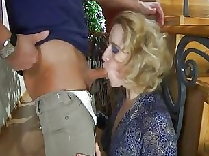 Blonde Couple MILF
