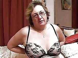 18-21 Glasses Granny Mature