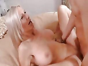 Babe Blonde Bus Busty Creampie MILF