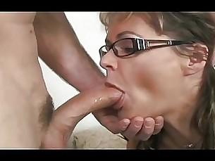 Anal Blowjob Brunette Couple Fuck Glasses Hardcore Masturbation