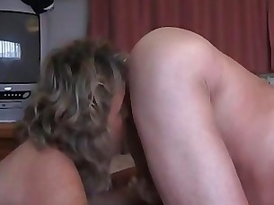 Amateur Blowjob Mature Sucking Wife