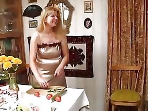 MILF fucks her younger lover
