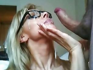 Amateur Blowjob Couple Creampie Cumshot Facials MILF Really