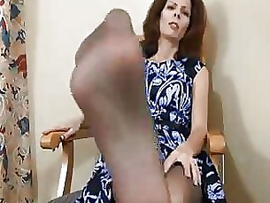 She goes Crazy for a foot rub JOI