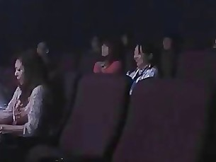 Sanae Aso Groped and Fucked at the Cinema By Stranger 2