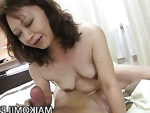 Big Cock Granny Hardcore Japanese Mature Ride