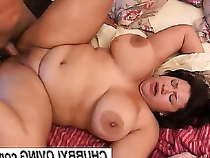 Beauty Brunette Bus Busty Cumshot BBW Fatty Fuck