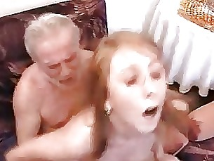 Amateur Blowjob Daughter Double Penetration Fuck Granny Redhead