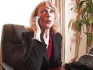 Lingerie MILF Pornstar