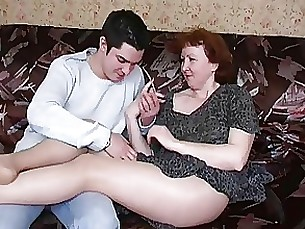 Amateur Hairy Mammy Mature Nylon Panties