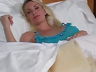 Blonde Jerking Masturbation Mature POV