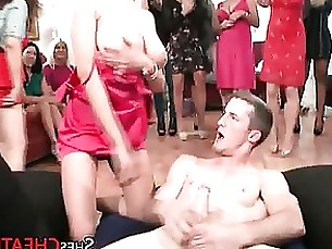 Facial Blasting For Cheating Party Milfs