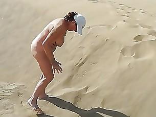 Amateur Beach Mature Nude Public