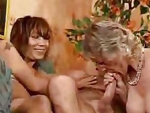 Granny Hardcore Mature Orgy