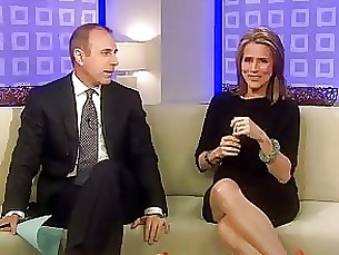 Meredith Vieira Upskirt On The T...