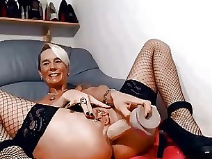Amateur Dildo MILF Webcam