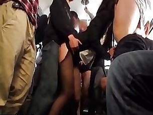 Office lady gets drilled from behind