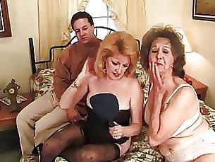 Friends Granny Kitty Mature Pornstar Threesome