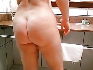 secando cabelo