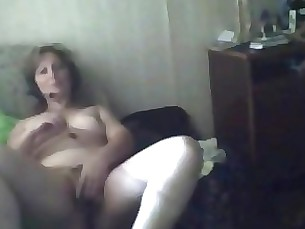 Anna 42 years Divocerd Milf cums at home