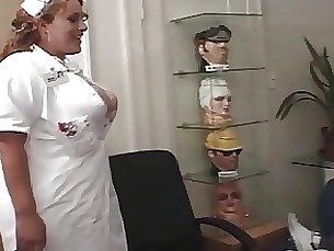 Horny Nurse Giving A Nice Treatment To His Patient