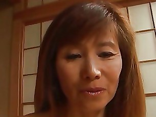 Cumshot Fuck Japanese Mature MILF Slender