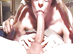 Blowjob Cumshot Mature Mouthful