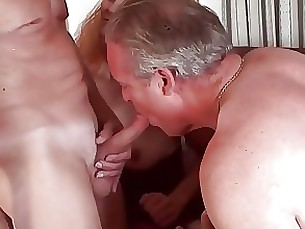 Couple Mature Threesome