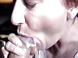 Cum in the mouth