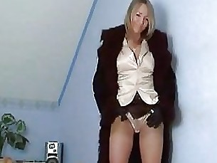Awesome Blonde Mature