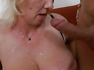 Blonde Bus Busty Mature