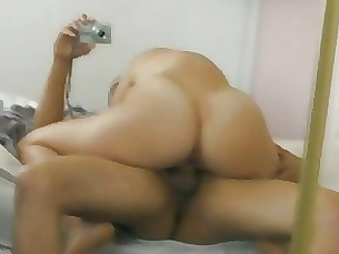 Big boobed blonde wife has sex