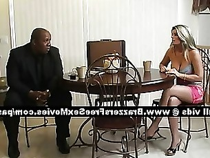 Precious mature blonde wife at home with her husband