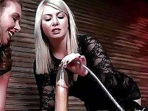 BDSM Cumshot Handjob MILF Slave Toys