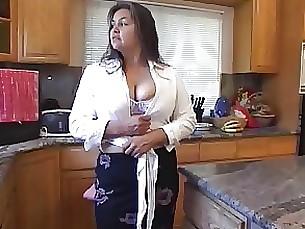 Cumshot BBW Hairy Mature MILF Pussy