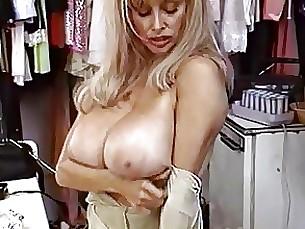 Blonde Bus Busty MILF