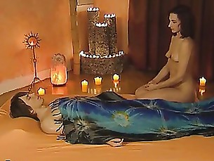 Amateur Babe Couple Erotic Interracial Massage MILF