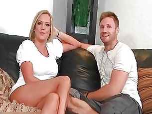Blonde Couple Mature MILF Teen