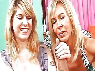 Jerking Lesson For The Cute Teen