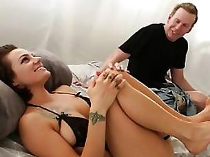 Brunette Fuck Mature Pornstar