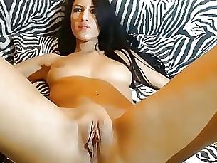Brunette Masturbation MILF Webcam