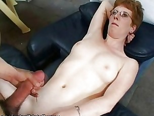 Amateur Blowjob Brunette Couple Fuck Glasses Horny Mature