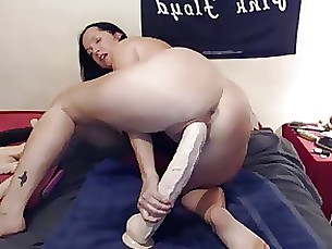 Beauty Dildo Gorgeous Masturbation MILF Monster Pornstar Webcam