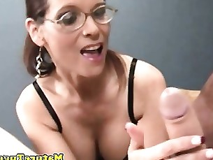 Amateur Brunette Big Cock Handjob Mature POV