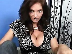 Brunette Cumshot Handjob MILF POV