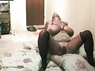 Amateur Blonde BBW Fuck MILF