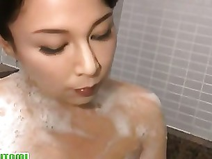 Japanese Mature MILF Nasty Shower