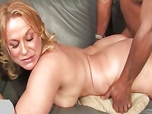 Blonde Blowjob Couple Interracial Mature MILF Stunning